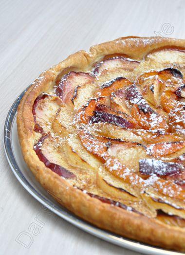 tarte abricot nectarine peche