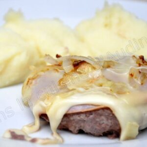 Steak haché de lendemain de raclette
