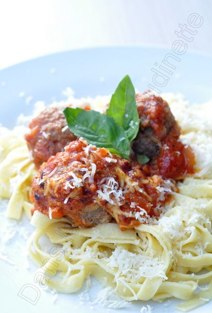 Boulettes à l'italienne d'après Jamie Oliver