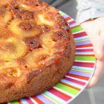 Gâteau aux pommes renversées