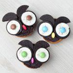 Chouette, des cupcakes OreOwls !