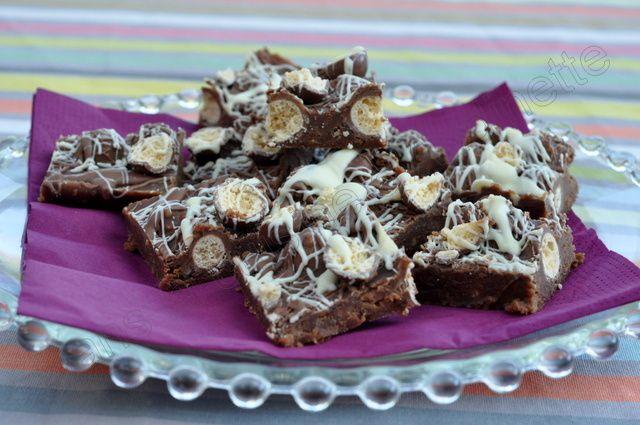 Chocolate Bars aux maltesers