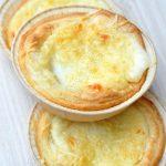 Tartelettes aux deux fromages et au chorizo