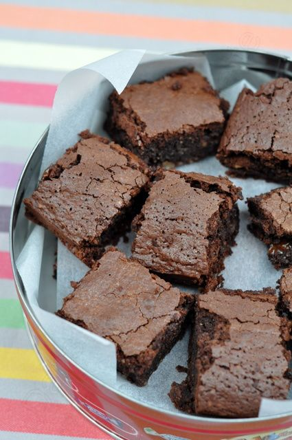 Brownies noisettes au carambar cub's