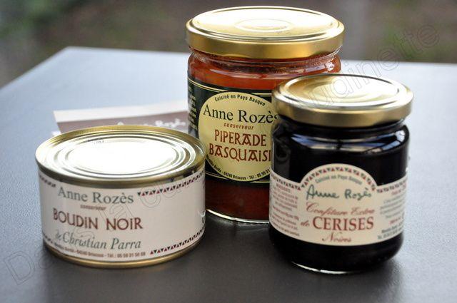 Trouver de bons produits Basques - 1 : Chez Anne Rozès