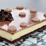 Bavarois passion et chocolat