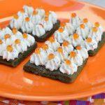 Hors d'oeuvre épinard saumon, à la tartinade Apérivrais