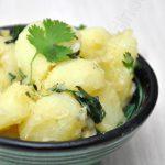 Salade de pommes de terre à la coriandre et au cumin