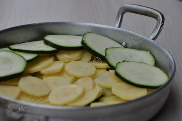 Gratin de courgettes et pommes de terre (sans pré-cuisson)