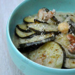 Curry de courgette à l'indienne (au lait ribot)