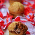 Mini Muffins aux bananes et aux Daims