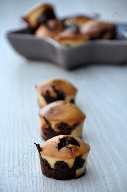 Muffins marbrés au carambar cubs