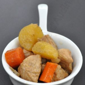 Epaule de porc aux légumes et à la bière (en mijoteuse)