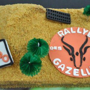 Gâteau «désert» pour le Rallye des Gazelles
