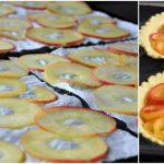 Tartelettes aux pommes boutons de roses