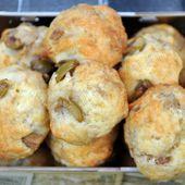 Cookies au thon et aux olives - Dans la cuisine d'Audinette