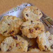 Cookies salés au chorizo et tomates confites - Dans la cuisine d'Audinette