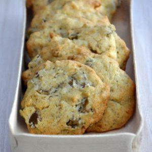 Cookies aux olives
