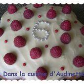 Gâteau au yaourt pour les filles qui ont les oreilles percées - Dans la cuisine d'Audinette