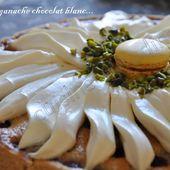 Tarte aux framboises déguisée en pâquerette - Dans la cuisine d'Audinette