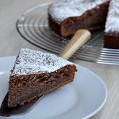 Gâteau moelleux au yaourt et à la pâte à tartiner - Dans la cuisine d'Audinette