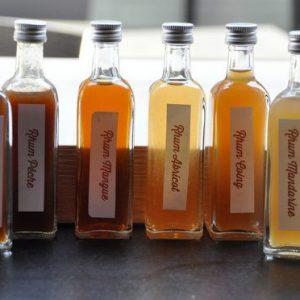 Confiture d'abricot à la vanille et au rhum arrangé