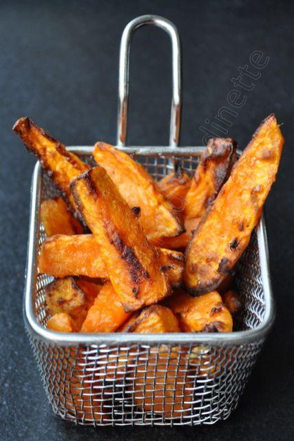 Les frites sont dorées, croustillantes mais restent moelleuses à l'intérieur :-)
