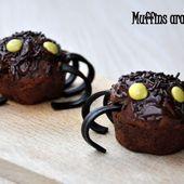 Muffins araignées - Dans la cuisine d'Audinette