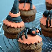 Muffins d'Halloween - Dans la cuisine d'Audinette