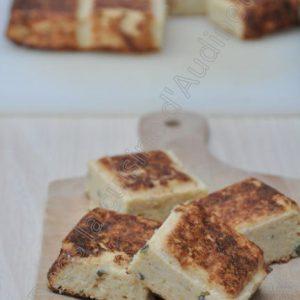 Gâteau de chou fleur au persil plat