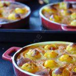 Clafouti aux tomates cerises