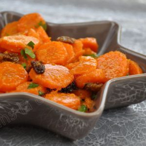 Salade de carottes à la marocaine