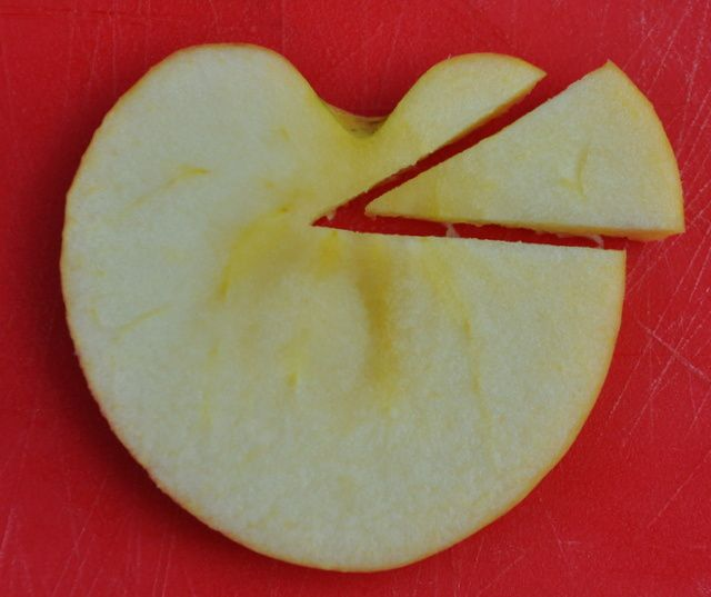 Comment faire un cygne dans une pomme ?