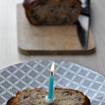 Cake banane pecan pour les 10 ans de mon blog