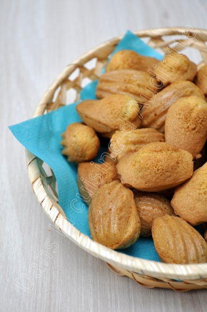 Mini madeleines à la vanille sans gluten