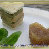 Faux pressé de foie gras aux artichauts - Dans la cuisine d'Audinette