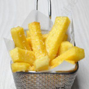 Frites de polenta au parmesan