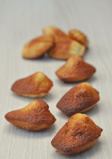 Mini madeleines à la banane