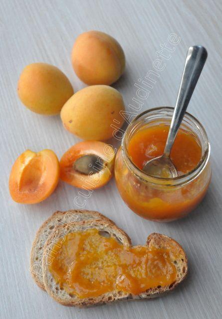 Confiture allégée à l'abricot (au four V-ZUG)