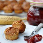 Les muffins au beurre d'arachides et banane de Ricardo