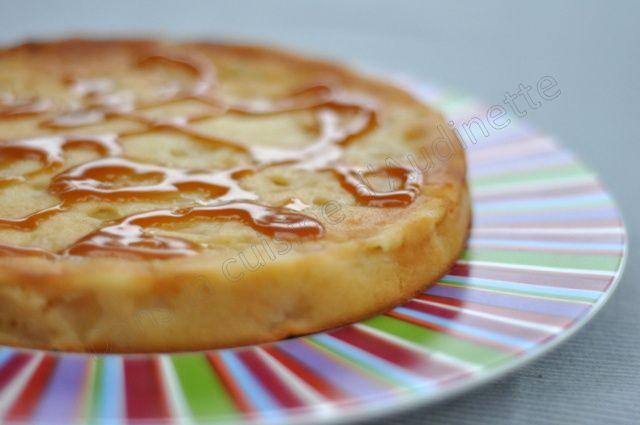 Gâteau aux pommes sans oeufs