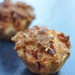 Muffins salés au chorizo et emmental