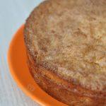 Moelleux aux pommes et sa couche croustillante à la noix de coco