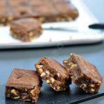 Brownies aux noix de cajou et cacahuètes
