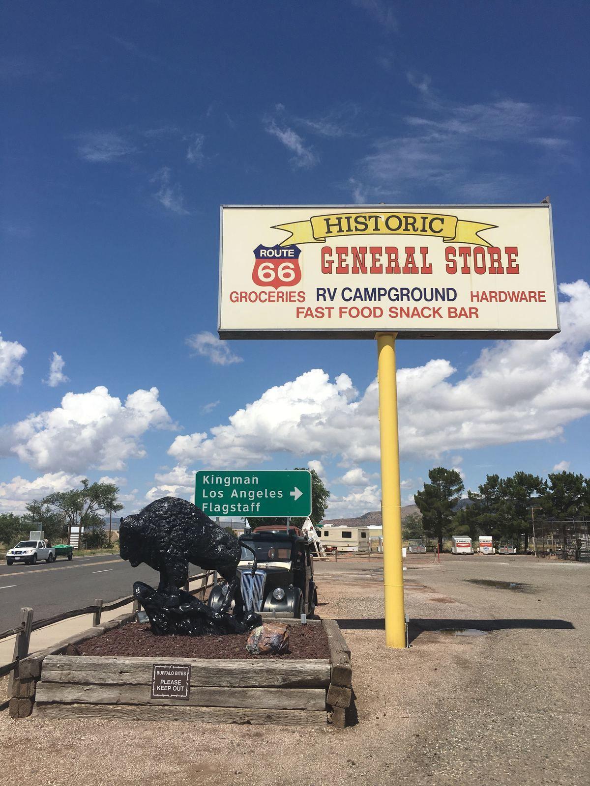 Road Trip Ouest américain partie 1: la route 66