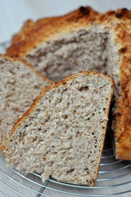 Soda bread, le pain express quand on rentre du boulot