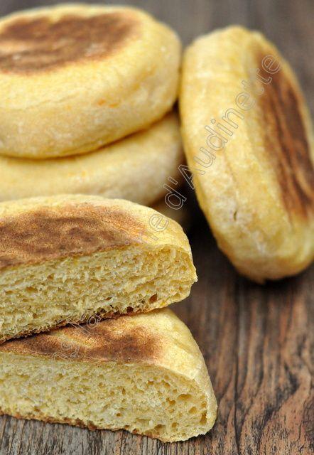 Petits pains à la courge muscade cuits à la poêle