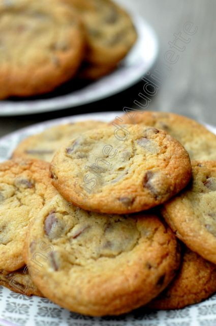 Soft Chocolate Chips Cookies comme aux US