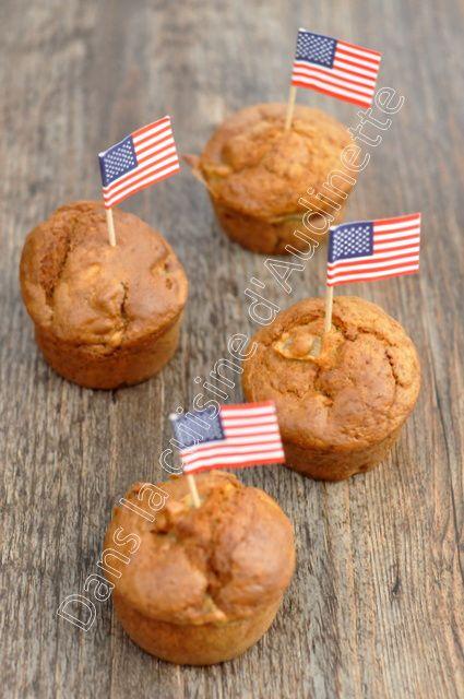 Muffins à la pomme et au buttermilk (lait fermenté)