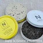 Saint-Jacques snackée au caviar sur toast